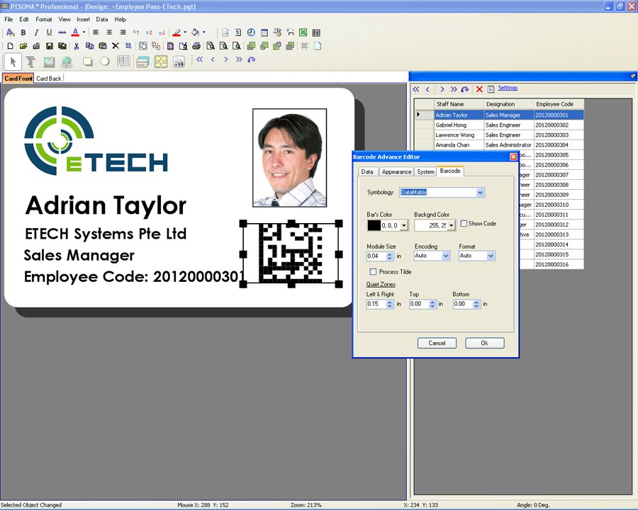 free identity card making software